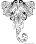 Ornamental elephant design