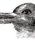 Duck or rabbit optical illusion