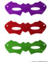 Colored eye masks set