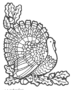 Decorative turkey