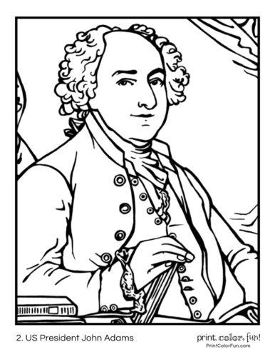02. US President John Adams
