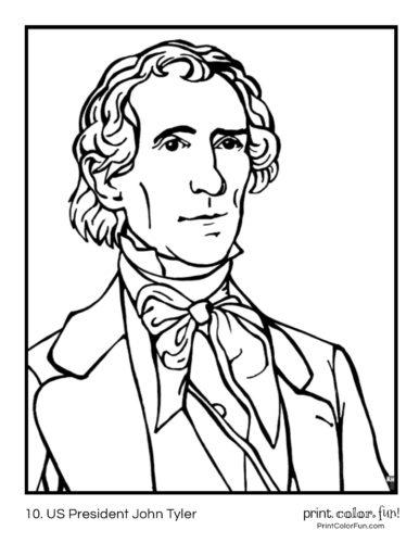 10. US President John Tyler
