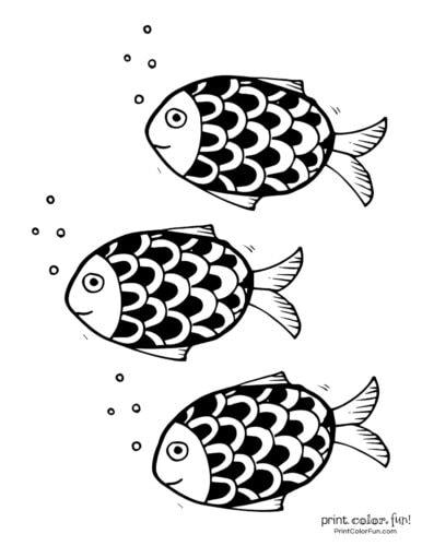 3 cute fish coloring printable from PrintColorFun com (11)