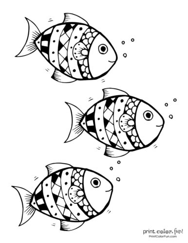 3 cute fish coloring printable from PrintColorFun com (13)
