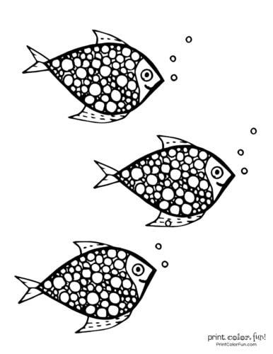 3 cute fish coloring printable from PrintColorFun com (14)