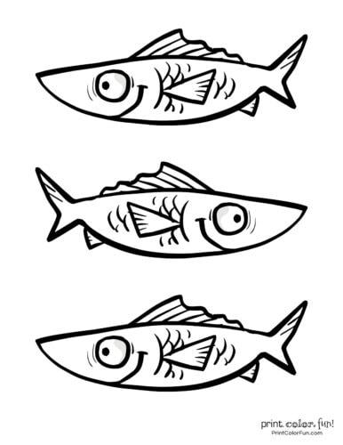 3 cute fish coloring printable from PrintColorFun com (18)