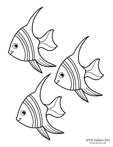 3 cute fish coloring printable from PrintColorFun com (3)