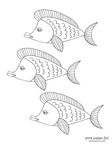 3 cute fish coloring printable from PrintColorFun com (7)