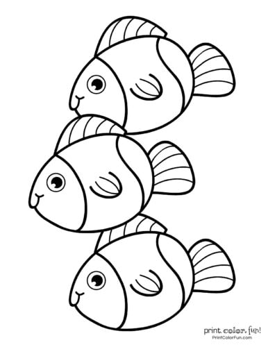 3 cute fish coloring printable from PrintColorFun com (8)