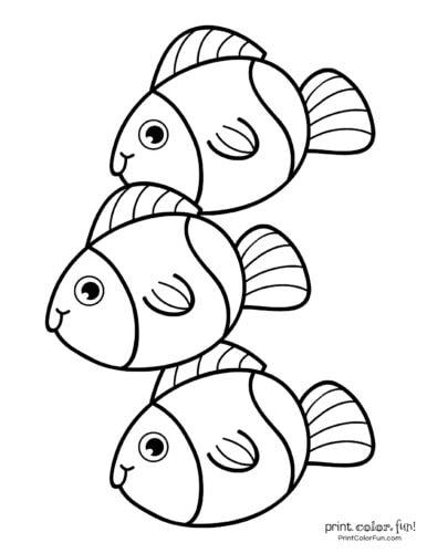 3 cute fish coloring printable from PrintColorFun com (8)