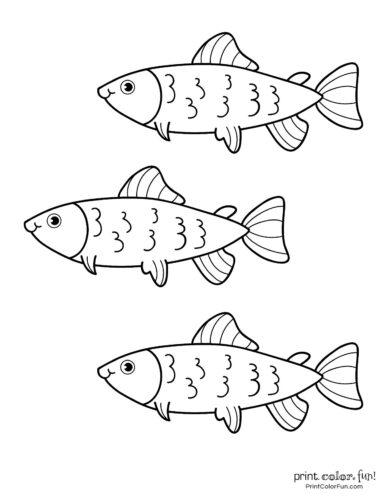 3 cute fish coloring printable from PrintColorFun com (9)