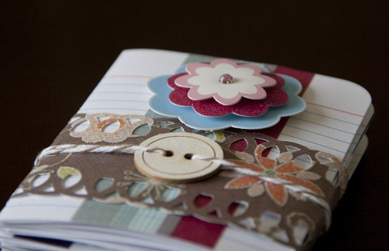 A pack of greeting cards made with index cards