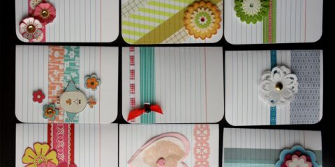 Adorable index card crafts