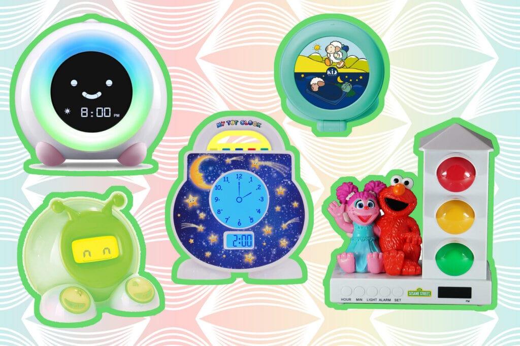 Alarm clocks for toddlers & preschoolers