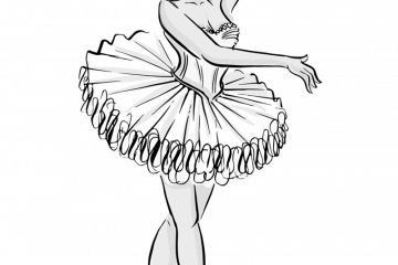 Dancer Coloring Pages - Coloring Home | 240x360