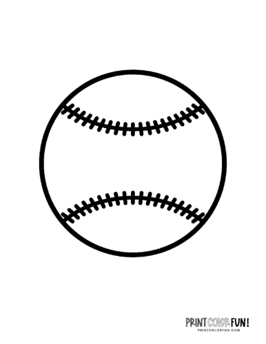 Black and white baseball coloring page (1)