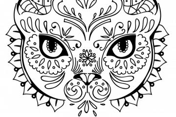 ocelot coloring page print color fun ocelot coloring page print color fun