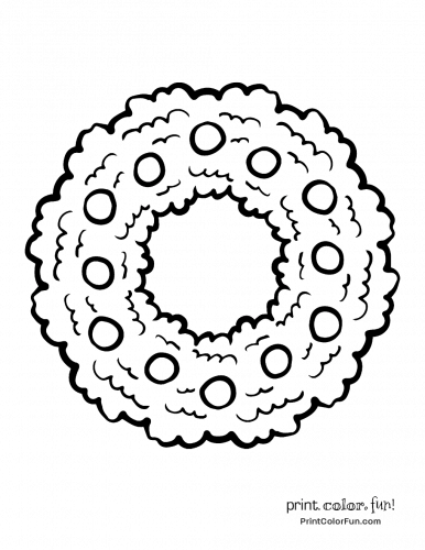 christmas-wreath-to-color