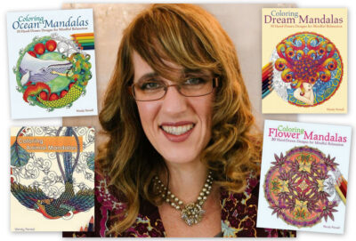 Coloring book author Wendy Piersall