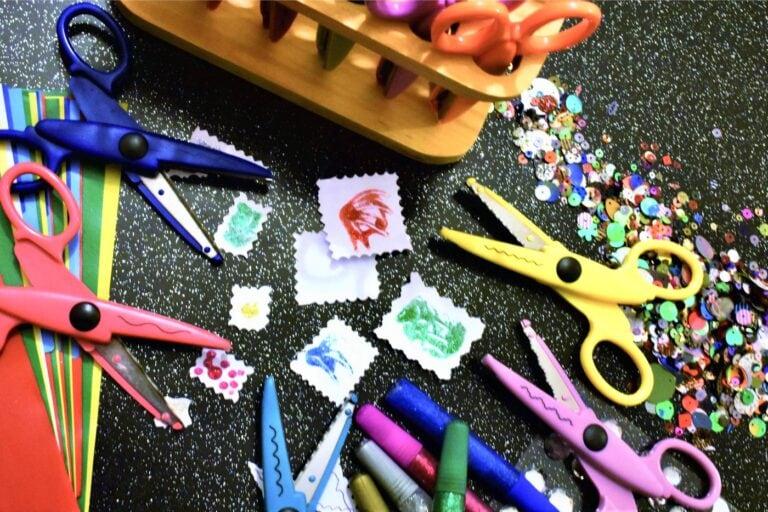 Craft DIY glitter glue sprinkles