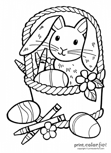 Easter-bunny-with-crayons