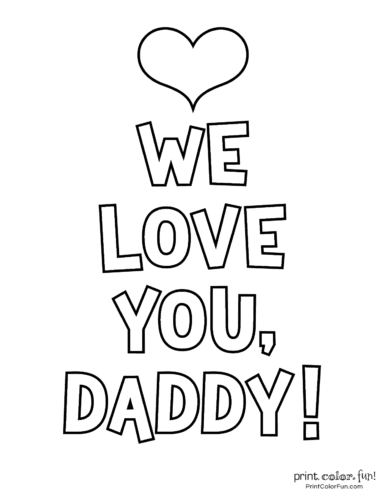 Free printable Father's Day coloring pages (11)