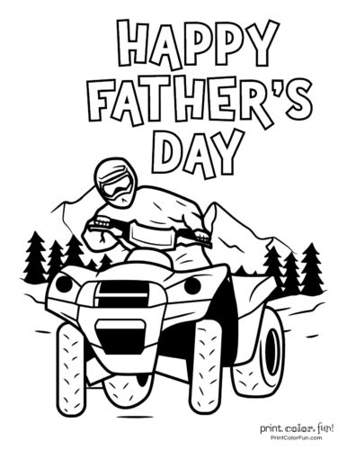Free printable Father's Day coloring pages (13)