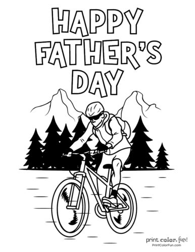 Free printable Father's Day coloring pages (15)