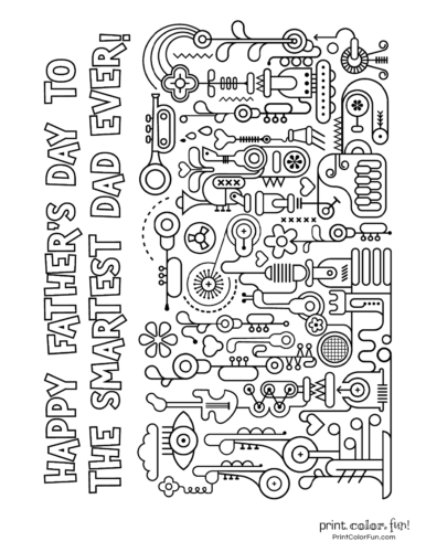 Free printable Father's Day coloring pages (2)