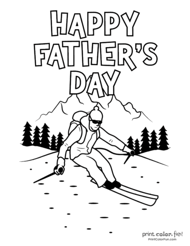 Free printable Father's Day coloring pages (4)