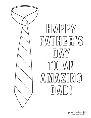 Free printable Father's Day coloring pages (8)