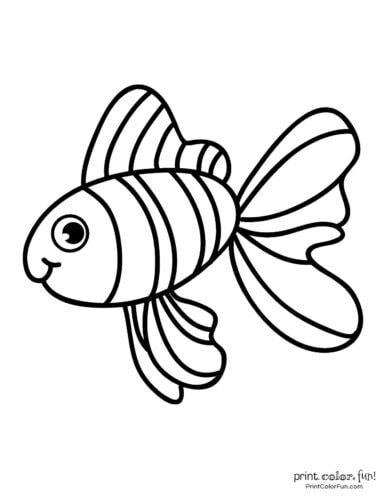 Funny fish coloring page from PrintColorFun com (12)
