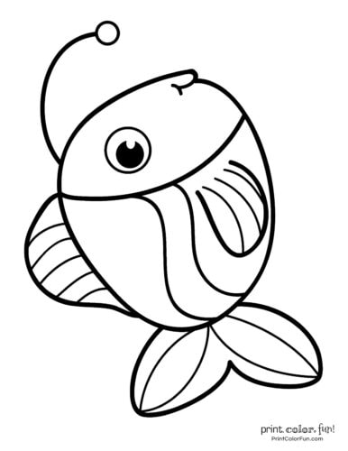 Funny fish coloring page from PrintColorFun com (16)