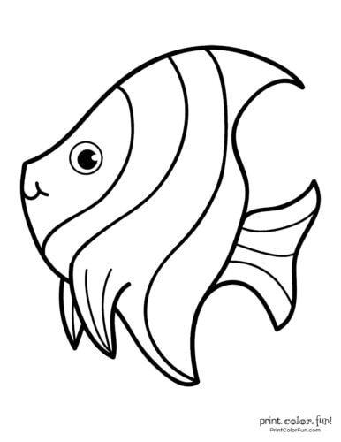 Funny fish coloring page from PrintColorFun com (26)