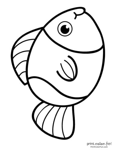 Funny fish coloring page from PrintColorFun com (34)