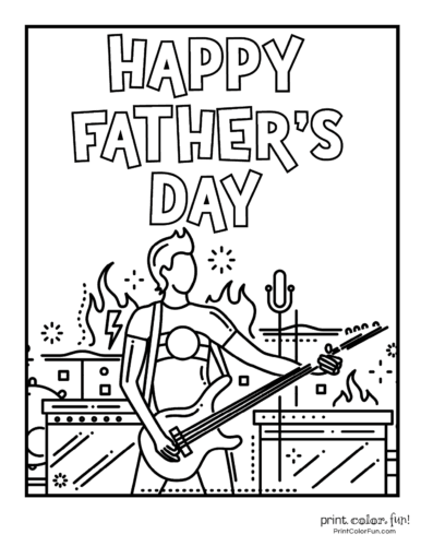 Happy Father's Day - musician