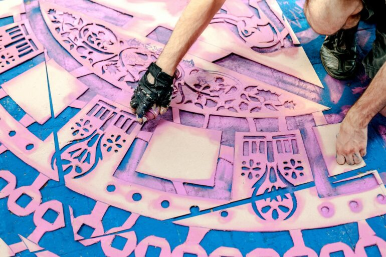 How to use printable stencils