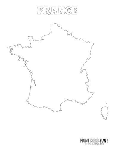 Maps of France to color (3)