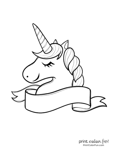 Top 100 magical unicorn coloring pages: The ultimate (free ...