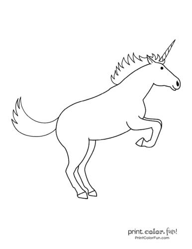 Simple unicorn rearing