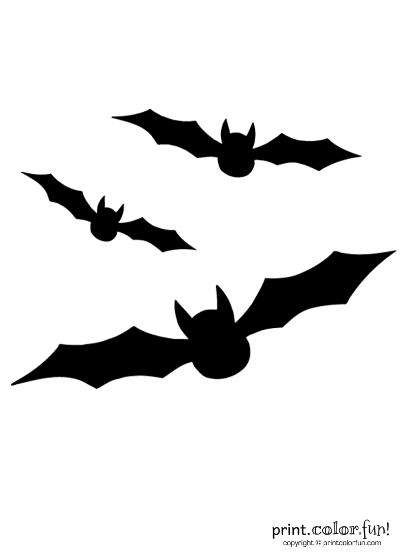 It is a photo of Bat Pumpkin Stencils Printable intended for simple
