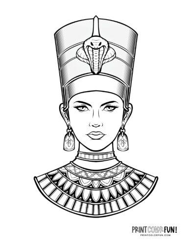 Queen Nefertiti - Front view