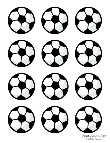 graphic about Soccer Ball Printable titled Football ball coloring webpages coloring web site - Print. Shade. Entertaining!