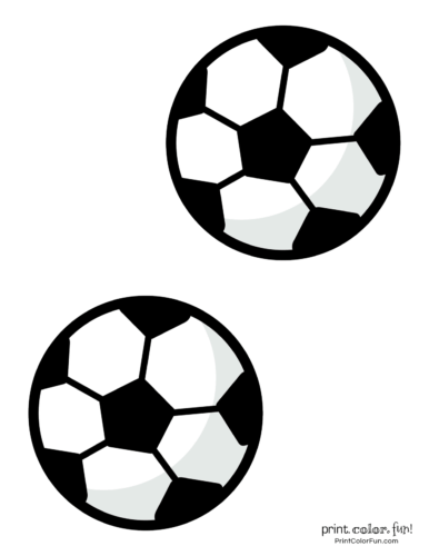 photograph relating to Soccer Ball Template Printable titled Football ball coloring web pages coloring web page - Print. Coloration. Pleasurable!