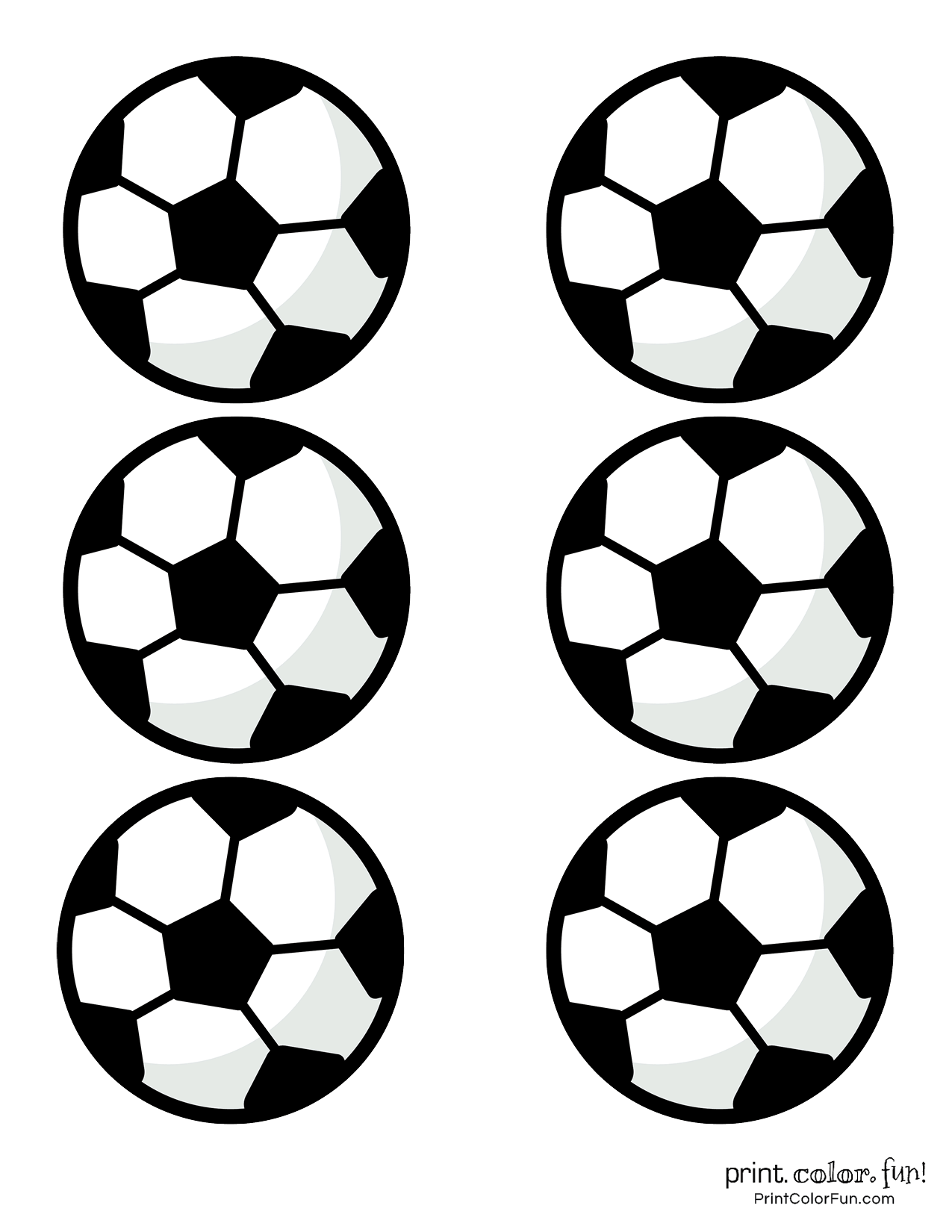 graphic relating to Soccer Ball Template Printable called Football ball coloring webpages coloring web site - Print. Shade. Entertaining!