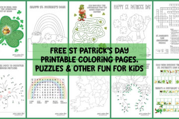 St Patrick's Day printables for kids