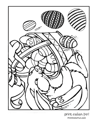 More Coloring Pages You Might Like Bunnyeastereaster Bunnyeaster Eggeaster
