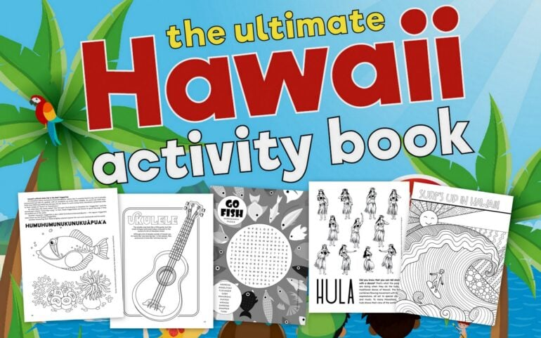 The Ultimate Hawaii Activity Book Find out what's inside