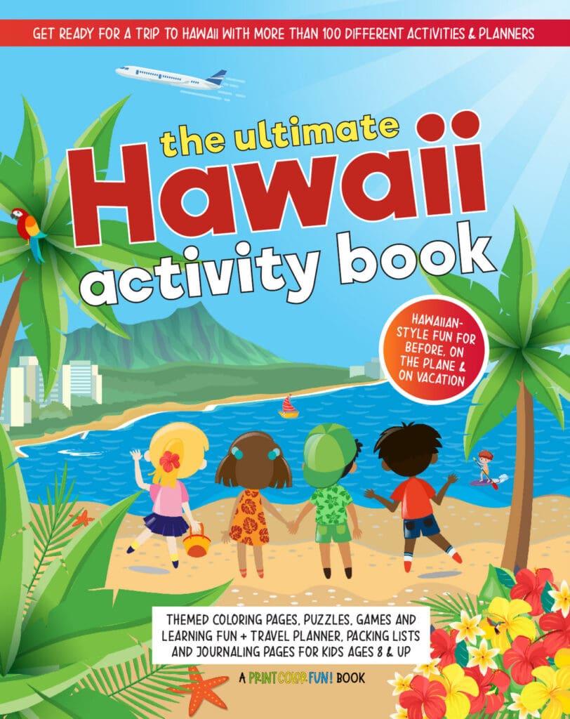 The Ultimate Hawaii Activity Book Nancy J Price - PrintColorFun