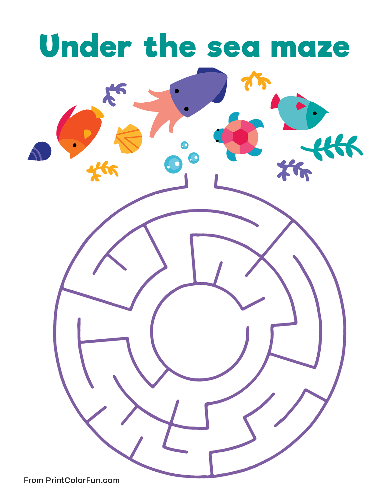 It is an image of Agile Under the Sea Printable